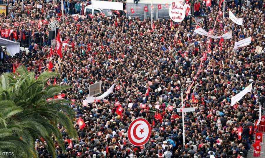 نتيجة بحث الصور عن إضراب عام يشل تونس وسط تحذيرات حكومية